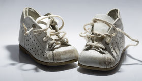 Kids Shoes Untied Royalty Free Stock Images