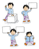 Kids sign Royalty Free Stock Photography