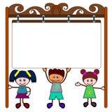 Kids signboard Royalty Free Stock Image