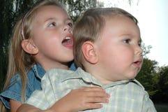 kids silly Στοκ Εικόνες