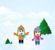 Kids Skating Background Stock Image