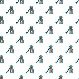 Kids slide pattern seamless Royalty Free Stock Photography