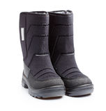 Kids snow boots isolated Royalty Free Stock Photo