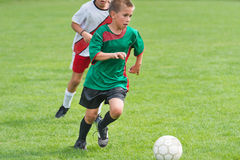 Kids' Soccer Royalty Free Stock Photo