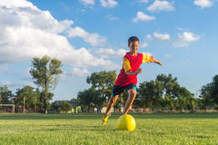 Free Kids Soccer Royalty Free Stock Image - 56672476