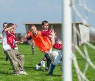 Kids' soccer Stock Photography