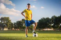 Kids soccer Stock Photography