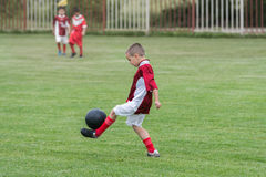 Kids' soccer Stock Photography