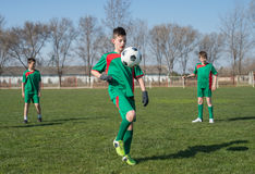 Kids soccer Royalty Free Stock Photography