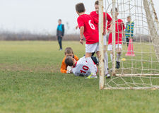 Kids soccer Royalty Free Stock Image