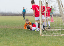 Kids soccer Stock Photography