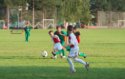 Kids Soccer Stock Photos
