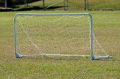 Kids soccer goal post Stock Photography