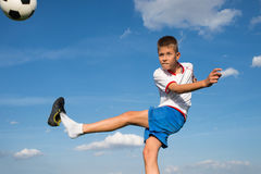 Kids' soccer Royalty Free Stock Photos