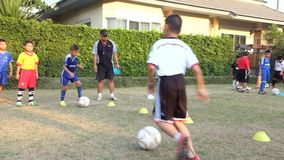 Kids soccer practice. 