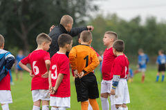 KidS soccer team Royalty Free Stock Photography