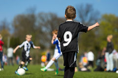 Kids soccer Stock Images