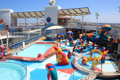 Kids Splash Zone onboard Oasis Of the Seas Stock Images
