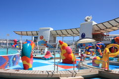 Kids Splash Zone onboard Oasis Of the Seas Royalty Free Stock Image