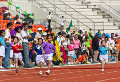 Kids Sport Day's Event Stock Image