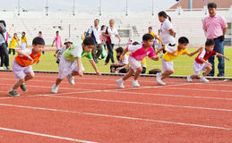 Kids Sport Day's Event Royalty Free Stock Photos