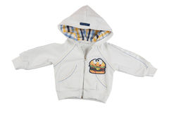 Kids sport jacket. Sport jacket isolated on the white background Royalty Free Stock Photography