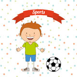 Kids sports Royalty Free Stock Photography