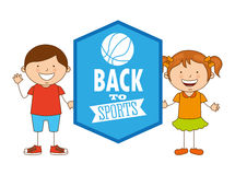 Kids sports Stock Photo