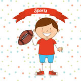 Kids sports Royalty Free Stock Photo