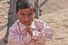 Kids on the street. Kids on street Patiala , Punjab India Stock Photography