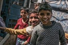 Kids on the street Stock Photo