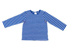 Kids striped shirt isolated Stock Images