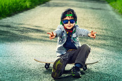 Kids style Royalty Free Stock Photos