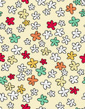 Kids style seamless pattern Stock Images