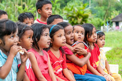 Kids from Sumatra Royalty Free Stock Photo
