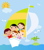 Kids summer Royalty Free Stock Photo