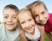 Kids at summer Stock Photos