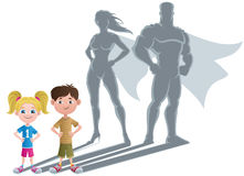 Kids Superhero Concept 2 Stock Images