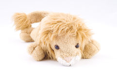 Kids sweet lion toy Stock Photography
