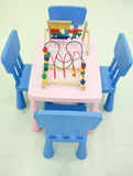 Kids Table & Chairs Royalty Free Stock Photos