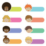 Kids tabs Royalty Free Stock Photo