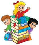 Kids thematic image 4 vector illustration