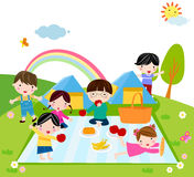 Kids Time royalty free illustration