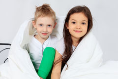 Kids together Royalty Free Stock Photography