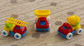Kids toy cars Stock Images