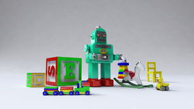 Kids, Toy, Children contents and object toy, Entertainment contents. stock video
