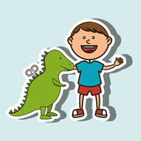 kids and toys design Stock Image