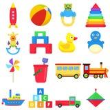 Kids toys stock illustration
