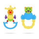 Kids toys royalty free illustration