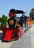 Kids Train. Carnival train at amusement park stock images